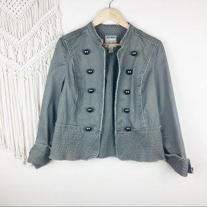 Old Navy • Structured Olive Green Jacket